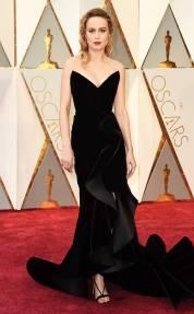 Brie Larson en Oscar de la Renta